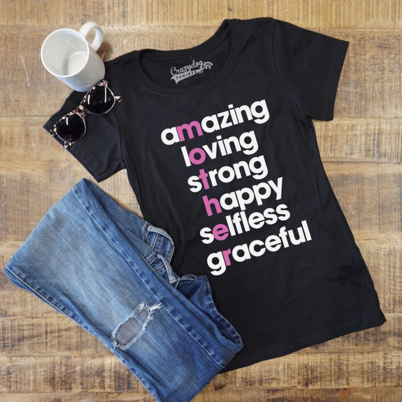 Mother Letters T-shirt