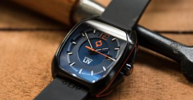 Rebel-A Black IP Swiss Made Automatic Blue Dial 2510.48.40