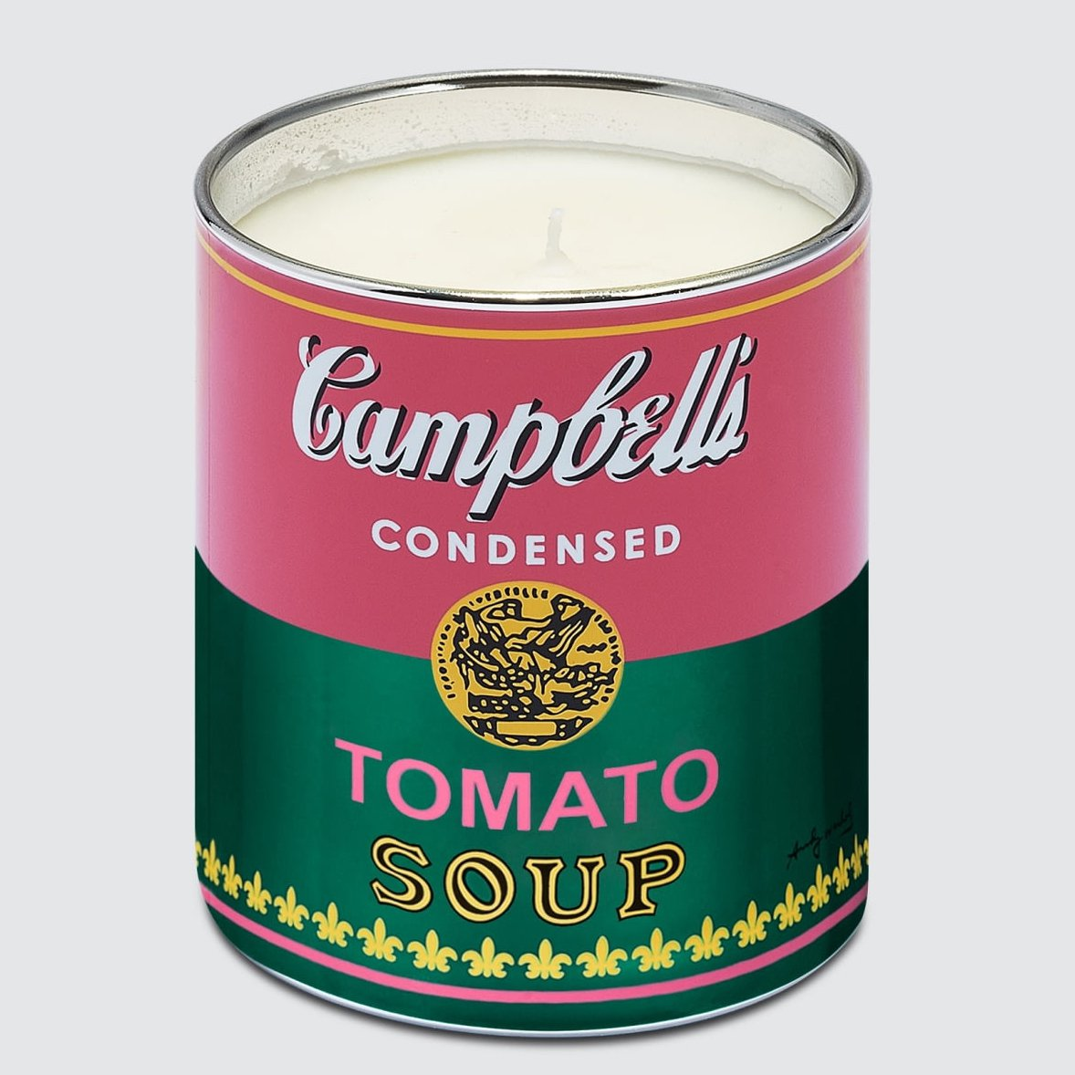 Andy Warhol Pink/Green Soup Candle