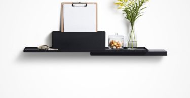 Duplex Metal Wall Shelf
