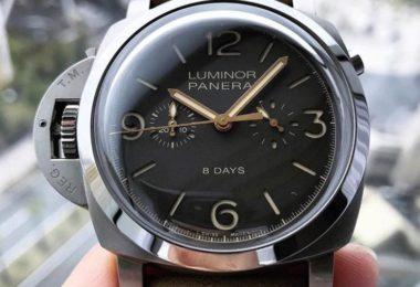 Panerai 1950 Monopulsante Left Hand 8 Days Chronograph PAM00579