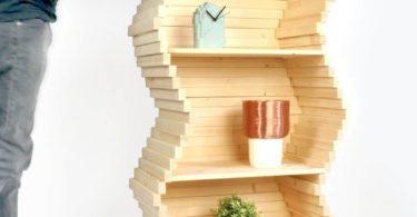 Wave Bookshelf