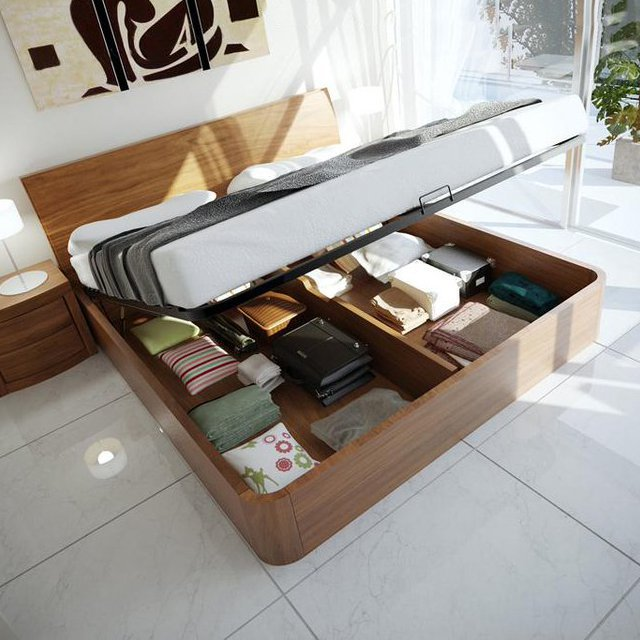 Corzano Storage Bed