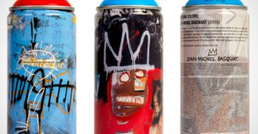 Jean-Michel Basquiat Spray Paint Can