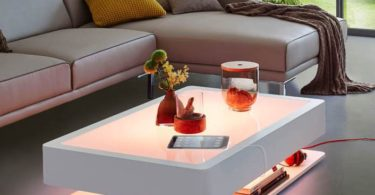 Ora Home LED Coffee Table