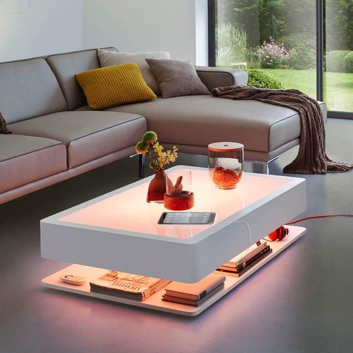Ora Home LED Coffee Table