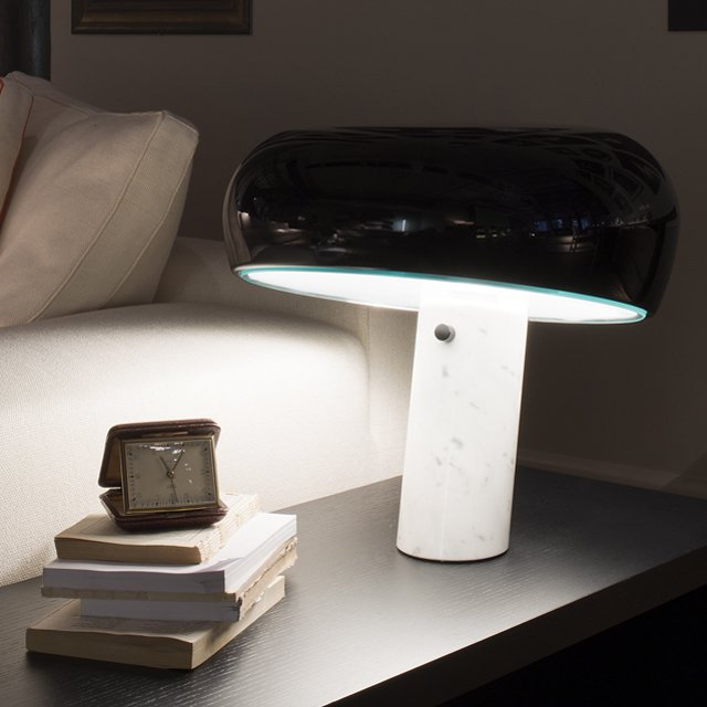Flos Snoopy Table Lamp by Achille Castiglioni