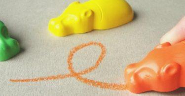 Kaba Hippo Crayons by Ryo Shimura