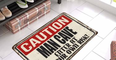 Man Cave Enter at Your Own Risk Doormat
