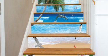 Sunshine Beach Stair Risers Mural