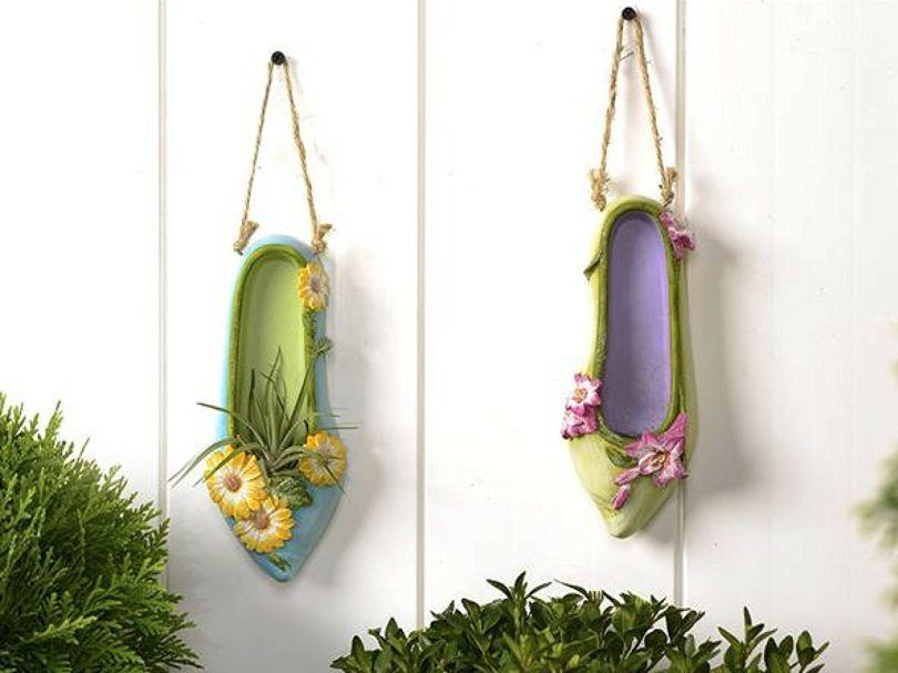 GC Fairy Shoe Planters