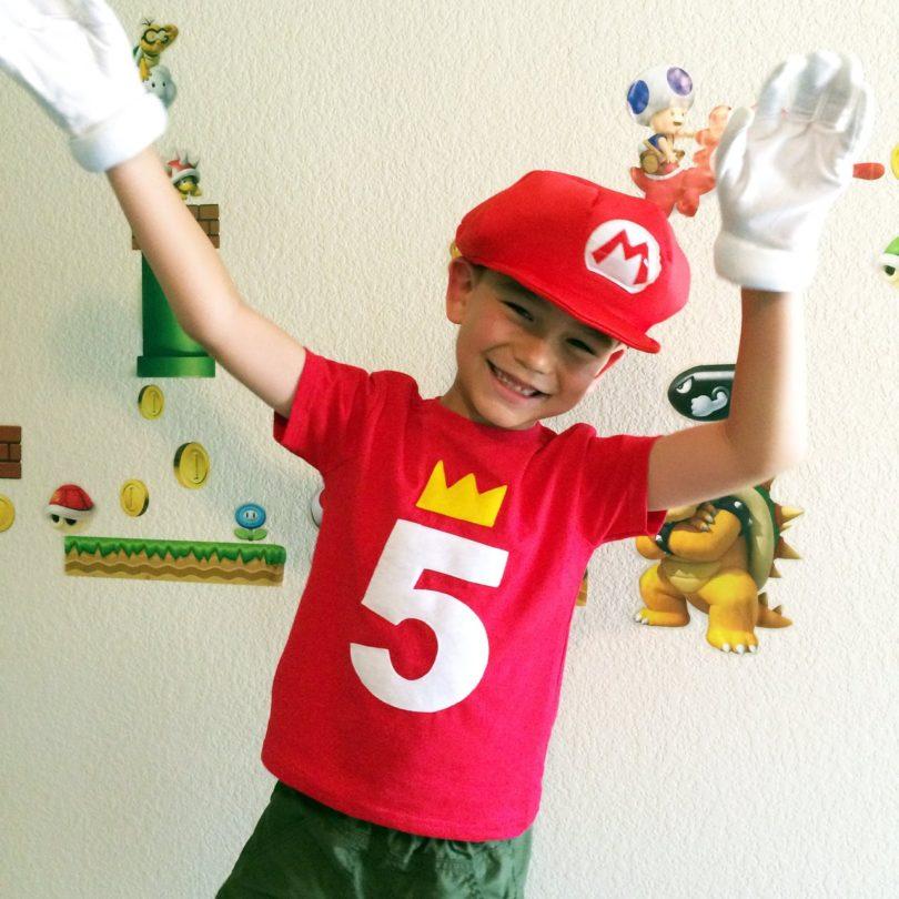 Kids Customized Birthday Shirt