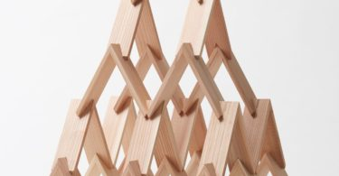 Tsukimi Cedar Building Blocks by Kengo Kuma