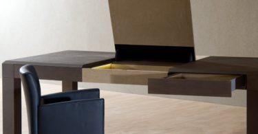 Duo Expression Biometric Fingerprint Secret Compartment Executive Desk