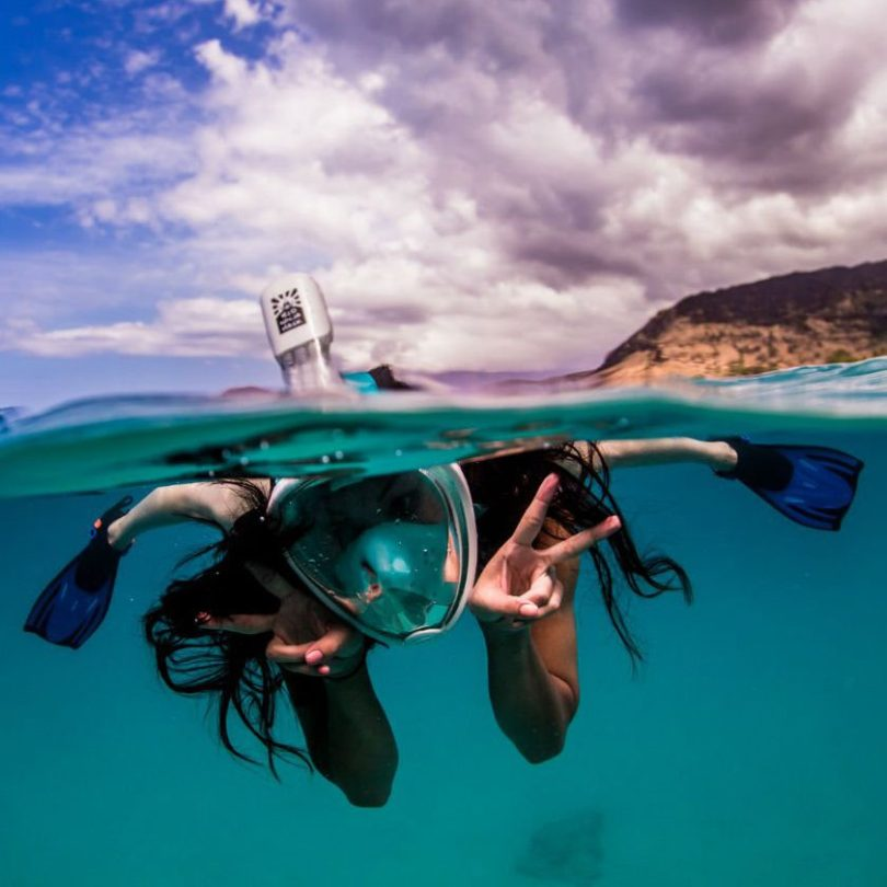 H2O Ninja Snorkel Mask GoPro Edition