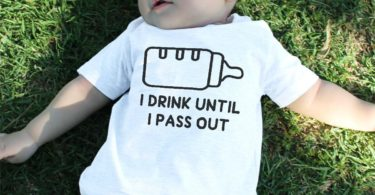 Drink Until I Pass Out Baby Tee