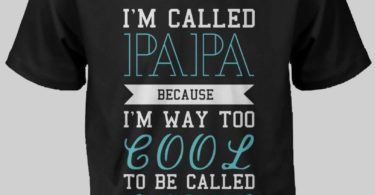 Cool To Be Called Grandfather T-Shirt