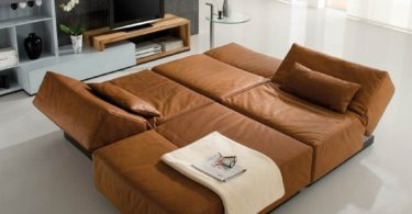 TEMA Sectional Sofa Bed