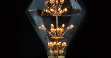 Diamond 3W LED Edison Fireworks Light Bulb