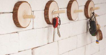 Wood Key Hooks