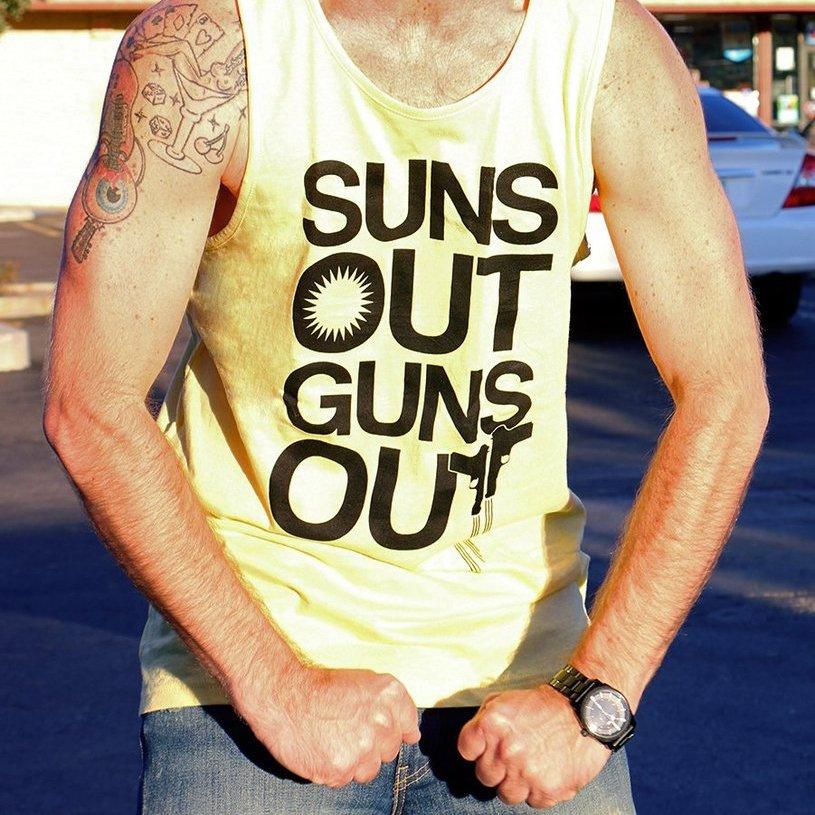 Suns Out Guns Out Tank Top