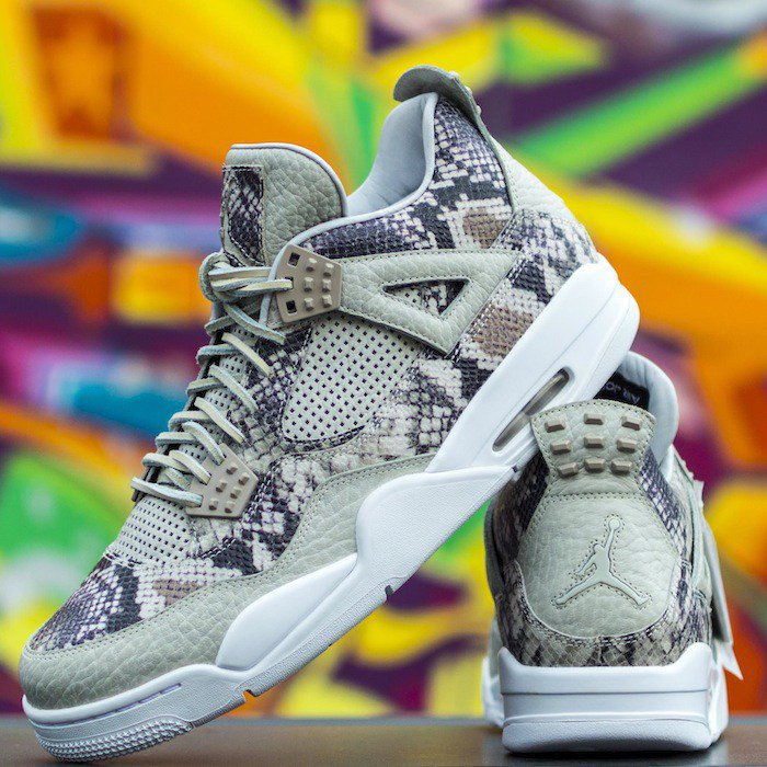 Jordan 4 Premium Pinnacle Snakeskin