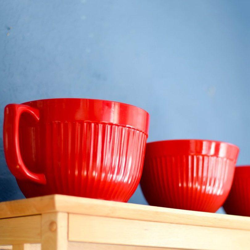 Molded Bamboo Bowl Set