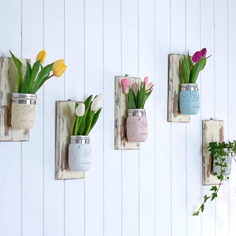 Vintage Style Wall Vase