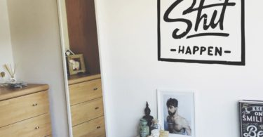 Make Sh*t Happen Wall Decal