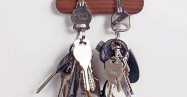 Wooden Magnet Key Hook