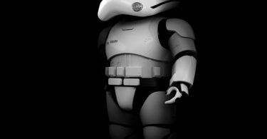 First Order Stormtrooper Robot