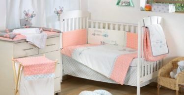 Dream Big Little One Pink Baby Crib Bedding Set