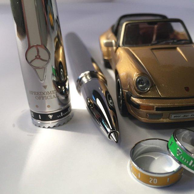 Speedometer Steel Roller Pen