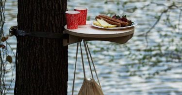 Tree Hugger Portable Table by Tufetto