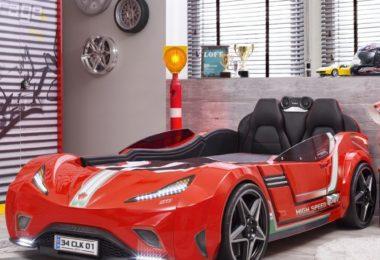 GTI Race Car Kids Bed