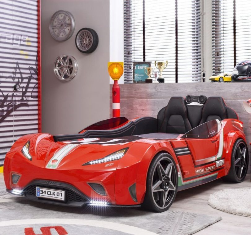 GTI Race Car Kids Bed