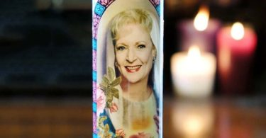 The Golden Girls Saint Rose Prayer Candle