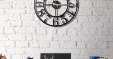 Circle Metal Wall Clock
