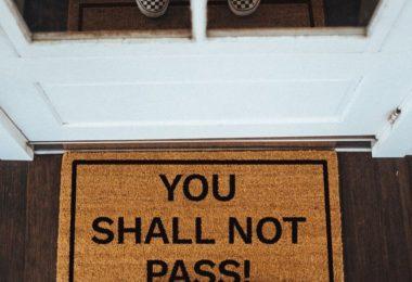You Shall Not Pass! Doormat
