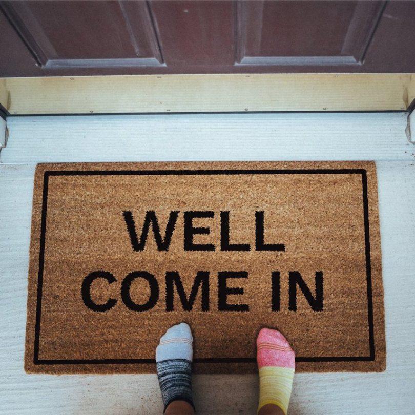 Well Come In Doormat