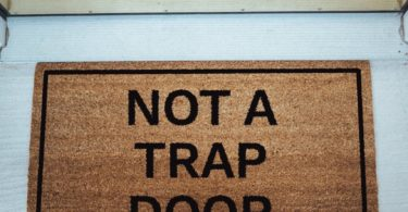 Not A Trap Door Doormat