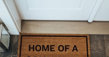 Home of a Sommelier Doormat