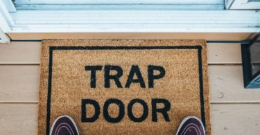 Trap Door Doormat