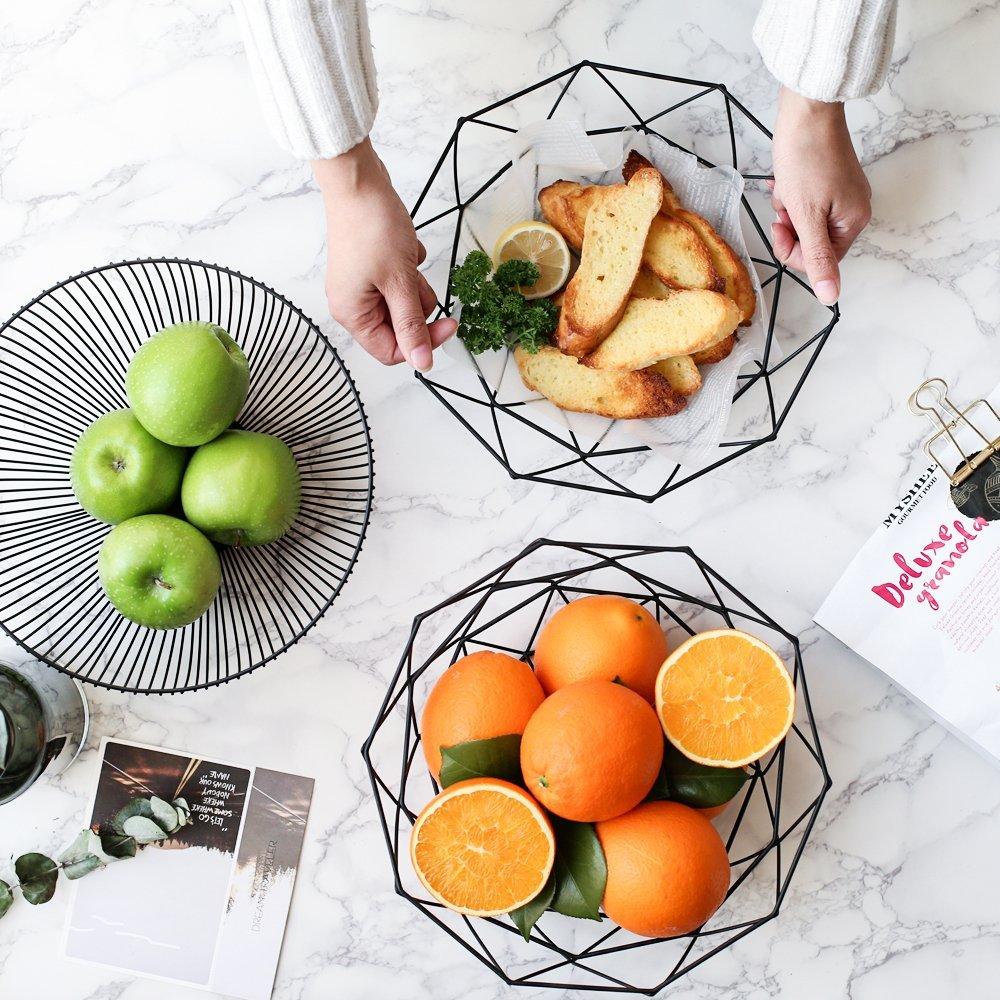 Simple Iron Fruit Basket