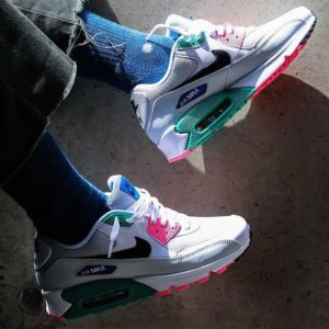 a99eb8339ad Nike Air Max 90 Essential Summer Sea. Synthetic Imported Premium leather  upper for ...