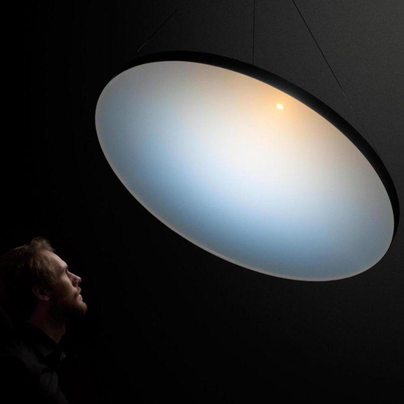Blue Sky Lamp by Chris Kabel