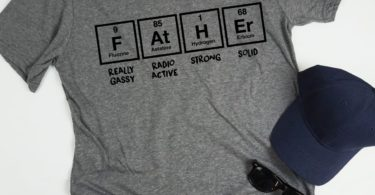 Father Periodic Table T-Shirt