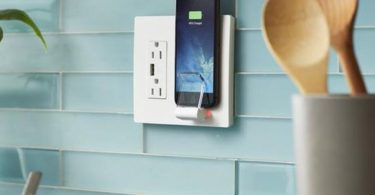 Radiant Wireless Charger Wall Plate