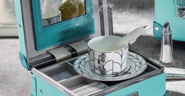 Tiffany x Globe-Trotter Vanity Case