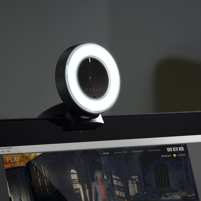 Razer Kiyo HD Streaming Webcam